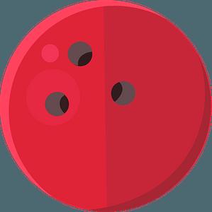 Bowling ballのクリップアート