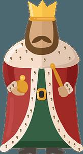 Kingのクリップアート