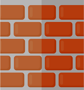 Brick wall clipart