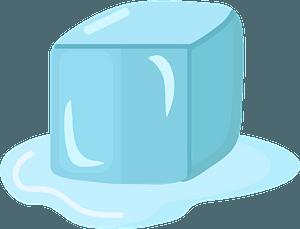 Ice cubeのクリップアート