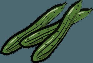 Cucumber clipart