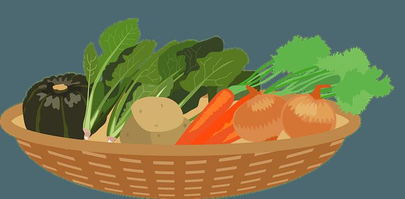 Vegetables In A Basket Clipart Free Download Transparent Png Creazilla