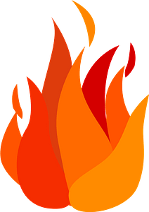 Flame fire clipart
