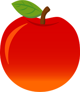Apple fruits food 剪贴画