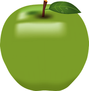 Apple fruits clipart