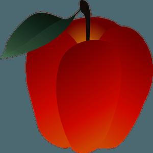 Apple fruits 剪贴画