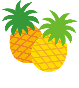 Pineapples clipart