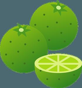 Sudachi fruit clipart