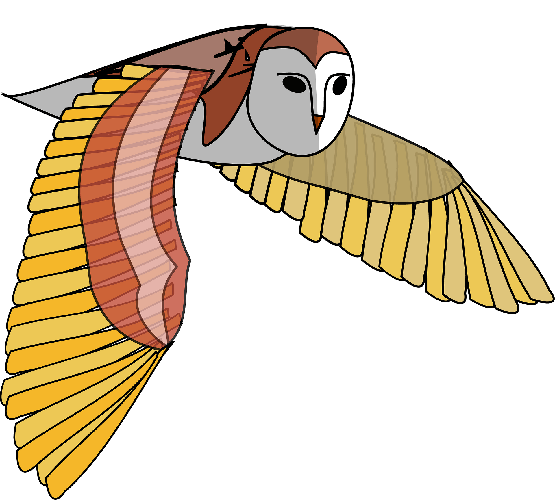 Illustration Of Brown Flying Owl Royalty Free Cliparts, Vectors, And Stock  Illustration. Image 13493245.