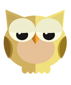 Little owl clipart