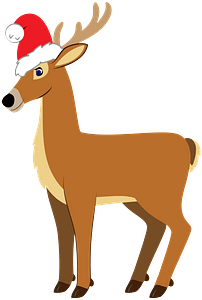 Christmas Reindeer кліпарт