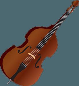 Double bass clipart