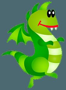 Creazilla Dragon clipart
