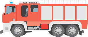 Fire engine clipart