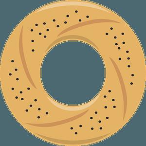 Bagel clipart