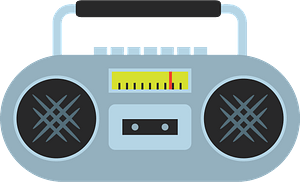 Boombox clipart