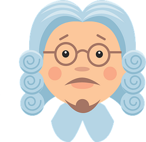 Judge wig clipart