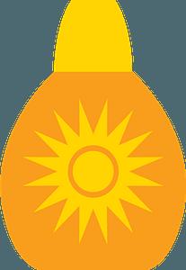 Sunscreen clipart