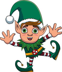 Christmas Elf кліпарт
