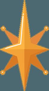 Christmas star кліпарт