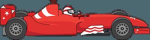 Formula car clipart