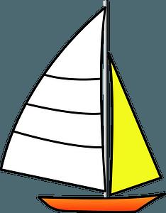 Yacht ship clipart