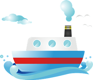 Steamboat clipart