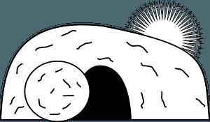 Empty tomb clipart