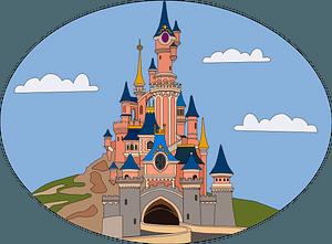 Disneyland clipart