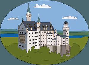 Neuschwanstein clipart
