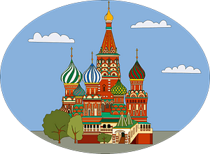 Saint Basil's Cathedral clipart