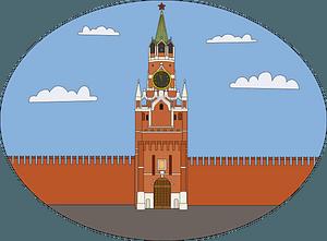 Spasskaya Tower clipart