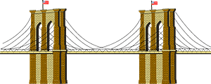 Brooklyn Bridge clipart