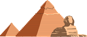 Great Pyramid of Giza clipart