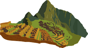Machu Picchu clipart