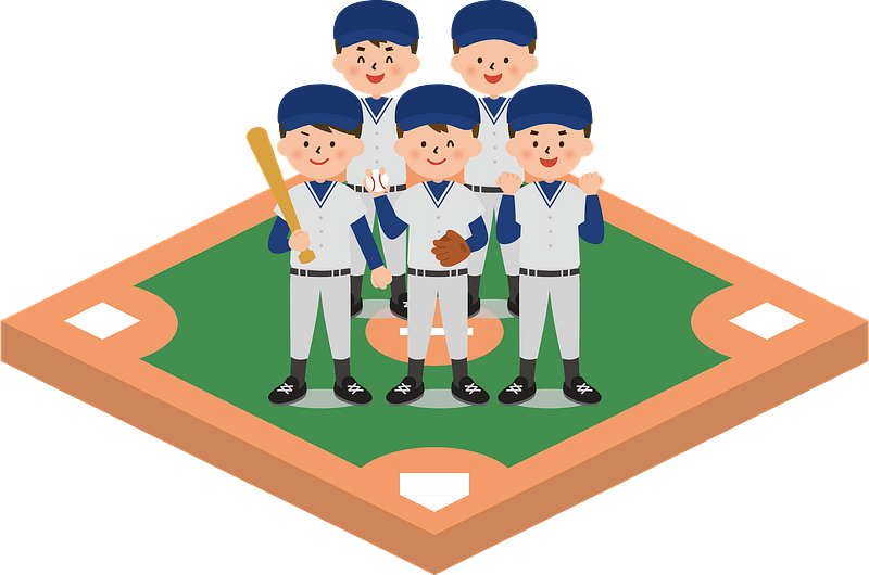Baseball sports clipart