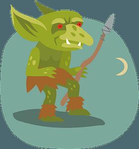 Goblin clipart