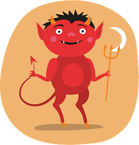 Little devil clipart