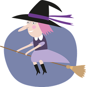Witch clipart