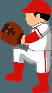 Baseball Pitcher clipart