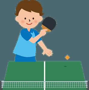 Table tennis clipart