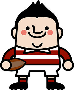 Rugby Player clipart