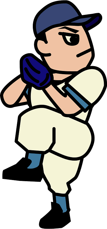 Baseball Pitcher clipart. Free download transparent .PNG ...