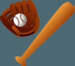 Baseball equipment clipart