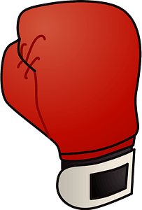 Boxing glove clipart