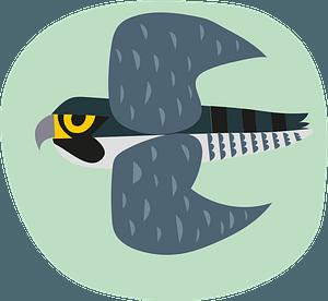 Falconのクリップアート