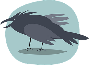 Ravenのクリップアート