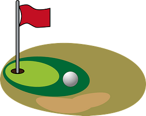 Putting Green clipart