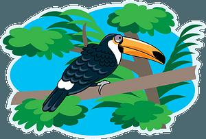 Toucanのクリップアート