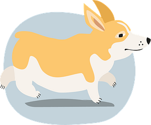 Corgi кліпарт